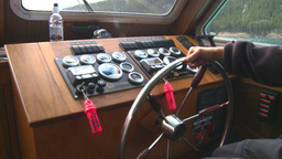 HD2008-10-1-29 lake boat ships wheel Footage