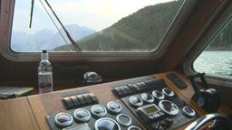 HD2008-10-1-31 lake boat ships wheel Stock Video Footage