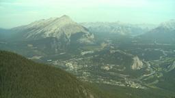 HD2008-10-2-14 top, town of Banff Cascade Stock Video Footage