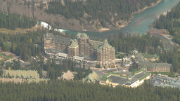HD2008-10-2-20 top, Banff springs hotel Footage