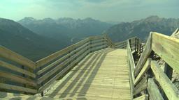 HD2008-10-2-28 top, walkway top of mtn Stock Video Footage