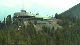 HD2008-10-2-30 top, Sulfur mtn gondola stn Stock Video Footage