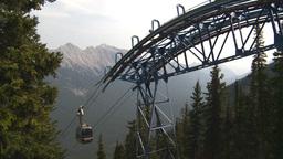 HD2008-10-2-32 top, gondola car arrives Footage