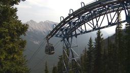 HD2008-10-2-32 top, gondola car arrives Stock Video Footage