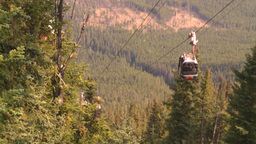HD2008-10-2-34 top, gondola cars Stock Video Footage