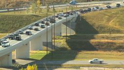 HD2008-10-2-38 rush hour traffic Stock Video Footage