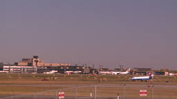 HD2008-10-2-44 airbus jet thru frame Stock Video Footage