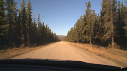 HD2008-10-3-13 drive on mtn road Stock Video Footage