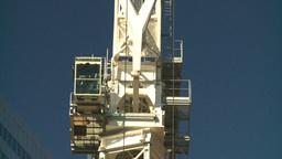HD2008-10-3-19 const cranes Z Footage
