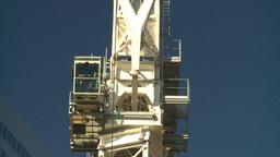 HD2008-10-3-19 const cranes Z Stock Video Footage