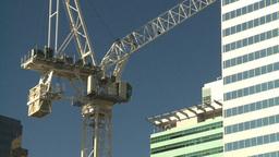 HD2008-10-4-6 construction crane Stock Video Footage