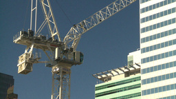 HD2008-10-4-6 construction crane Stock Video Footage