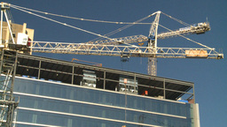 HD2008-10-4-12 construction crane Footage