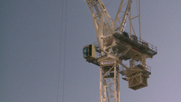 HD2008-10-4-18 construction crane Stock Video Footage