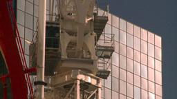 HD2008-10-4-24 construction crane Stock Video Footage