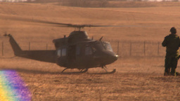 HD2008-10-11-1 heli landing Footage