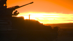 HD2008-10-11-15 silou LAV sunset Stock Video Footage