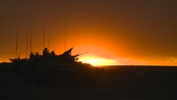 HD2008-10-11-17 silou LAV sunset Stock Video Footage