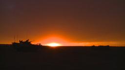 HD2008-10-11-21 silou LAV sunset Stock Video Footage