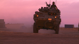 HD2008-10-11-25 LAV sunset drive Stock Video Footage