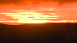 HD2008-10-11-27 dusty sunset Footage