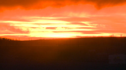 HD2008-10-11-27 dusty sunset Stock Video Footage