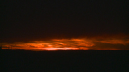 HD2008-10-11-31 dusty sunset Footage