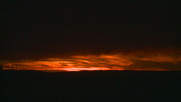 HD2008-10-11-31 dusty sunset Stock Video Footage