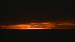 HD2008-10-11-31 dusty sunset Stock Video Footage