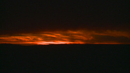 HD2008-10-11-33 dusty sunset Stock Video Footage