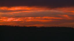 HD2008-10-11-35 dusty sunset Footage