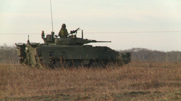 HD2008-10-16-3 LAV3 in the distance Stock Video Footage