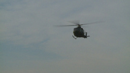 HD2008-10-16-7 helo landing dusty Stock Video Footage