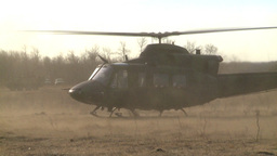 HD2008-10-16-9 helo take off Stock Video Footage