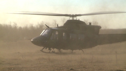 HD2008-10-16-9 helo take off Footage
