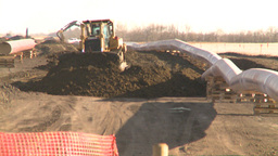 HD2008-10-17-2 pipeline const Stock Video Footage