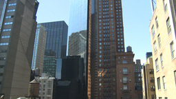 HD2008-9-1-1 NYC buildings Stock Video Footage