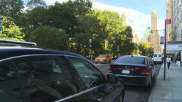 HD2008-9-1-5 NYC street scene traffic Footage