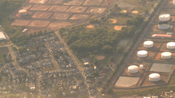 HD2008-9-1-19 aerial industrual new jersey oil storage Footage