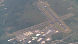 HD2008-9-1-21 aerial new jersey airport Stock Video Footage