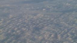 HD2008-9-1-23 aerial cloud sky Stock Video Footage