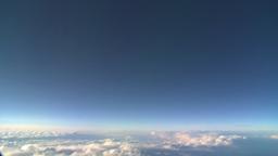 HD2008-9-1-29 aerial cloud sky Stock Video Footage
