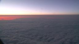 HD2008-9-1-33 aerial cloud sky Stock Video Footage