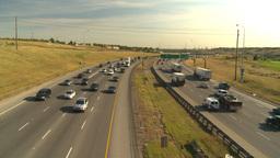 HD2008-9-2-12 Deerfoot traffic Stock Video Footage
