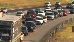 HD2008-9-2-14 Deerfoot traffic bumper to bumper Footage