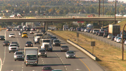 HD2008-9-2-16 Deerfoot traffic bumper to bumper Footage