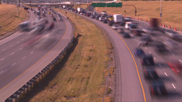 HD2008-9-2-20 TL Deerfoot traffic bumper to bumper Footage