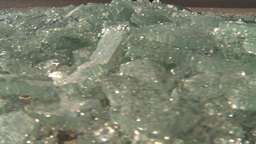 HD2008-9-3-1 shattered safety glass Stock Video Footage