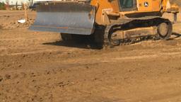 HD2008-9-3-3 caterpillar scraper Stock Video Footage