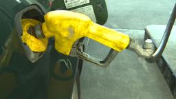 HD2008-9-3-7b diesel fill up gas pump Stock Video Footage